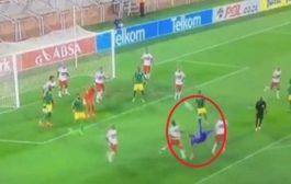 بالفيديو. حارس مرمى نقد فريقو فآخر لحظات المقابلة عبر هدف واعر