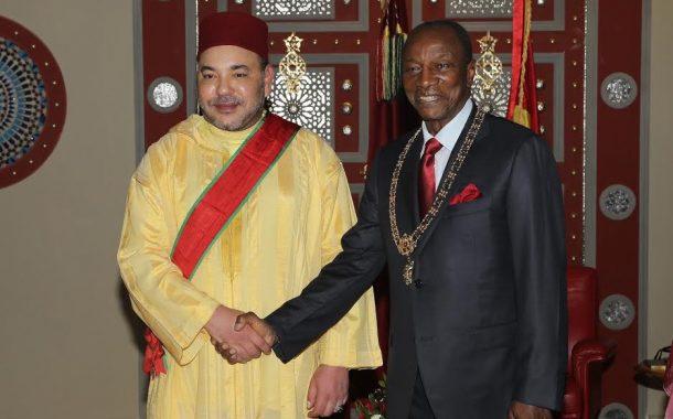محمد السادس وصل لعند احد اكثر رؤساء افريقيا رجلة معانا. تقاتل على المغرب باش يرجع للاتحاد الافريقي ونوضها مع الرئيس زوما