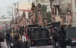 بالفيديو. جنازة مادايراش حضرو فيها 50 راقصة فالتايوان