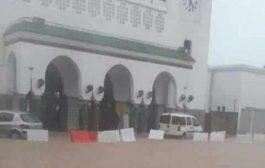 """قطارات لخليع وقفات فهاد المحطات بسبب """"الأمطار الطوفانية"""""""