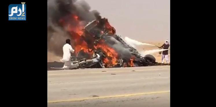 بالفيديو. 12 دالناس تحرقوا فحادثة سير مروعة فالسعودية