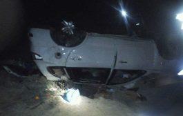 زوجين ضحية حادثة سير مروعة قرب الطرفاية