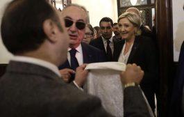 فيديو: لوبين ترفض ارتداء الحجاب في لبنان للقاء المفتي