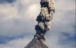 بالفيديو. لحظة انفجار بركان فالمكسيك