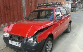 زوج حاول اختطاف زوجته من طاكسي بطريقة هوليوودية في الحي المحمدي