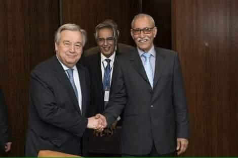 من بعد غوتيريس. ابراهيم غالي يلتقي رئيس مجلي الأمن الدولي