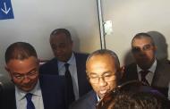 """رئيس """"الكاف"""" عجبو التيران ديال محمد الخامس فكازا"""