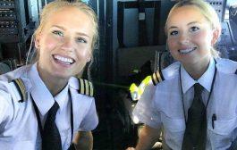 بالصور.. ها شكون هي أجمل قائدة طائرة فالعالم