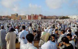 بالفيديو: روينة فصلاة العيد ببوجدور والمصلين رفعوا كلمة ارحل فوجه رئيس المجلس العلمي