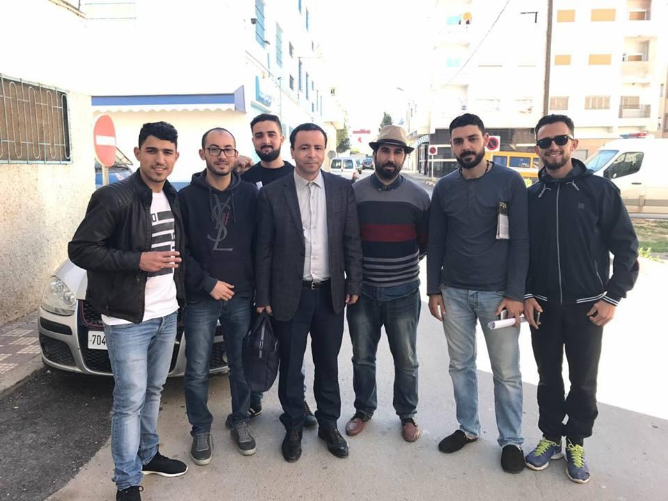 بالفيديو. محامي الحراك البوشتاوي يؤكد إحالة خمسة معتقلين بينهم جلول على قاضي التحقيق بتهم جنائية ثقيلة