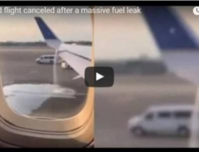 بالفيديو. مسافرة نقذات ركاب طيارة من الموت