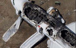 بالفيديو. تداول فيديو مرعب لركاب يهربون من طائرة تحترق