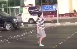 """دابا اش هي الجريمة!. اعتقال قاصر سعودي شطح فوسط الشانطي""""فيديو"""""""
