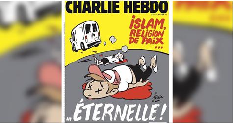"""مجلة """"شارلي إيبدو"""" الفرنسية مزالة كتستفز المسلمين.. شوفو شنو دارت عاود (صورة)"""