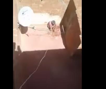 فيديو ديال ستينية محتجزة من قبل إبنتها فوجدة منوّض قربالة ف الفايس (فيديو)
