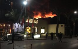 عاجل. العافية شعلات فاشهر حي مراكشي وبدات من بواط مطعم =صورة=
