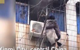 بالفيديو. شينوي تحول لبطل من بعد ما نقذ حامل من حريق
